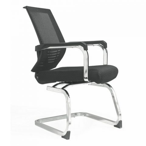 High Quality American Classic Mesh Swivel Office Chair Conference Meeting Chairs  Without Wheels