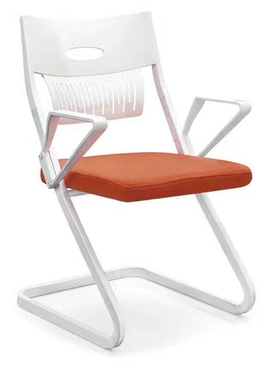 China Manufacturer Plastic Chair Mid Back Ergonomic Mesh