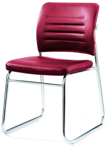 Comfortable simple chrome frame stackable office visitor - Cheap comfortable living room chairs ...