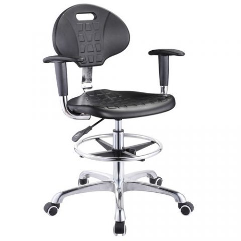 High Quality Lab Stool Chair Adjustable Stool With Wheels