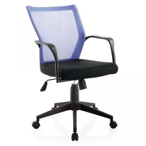 small size staff room ergonomic swivel chair low back plastic fabric