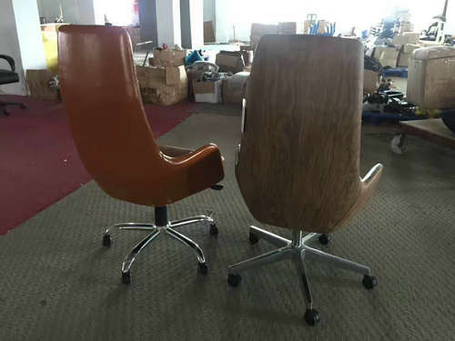 Luxury High Back Genuine Leather Executive Office Chair