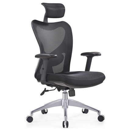Foshan Executive Manager Computer Swivel Lumbar Support Mesh Office Chair With Headrest Cheap Office Chairs