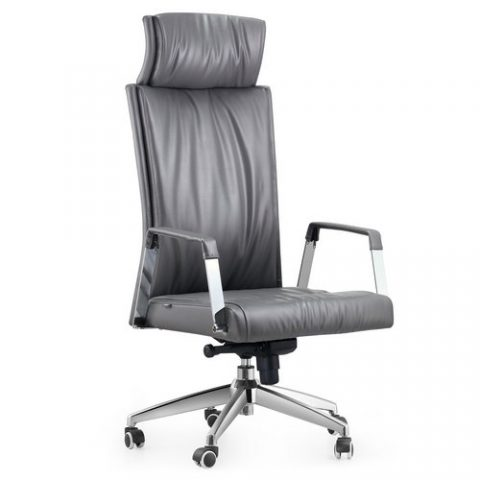 spartan leather manger office chair high back operator chair china