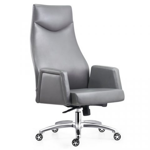 the sicily leather gull wing armed high back executive manger chair