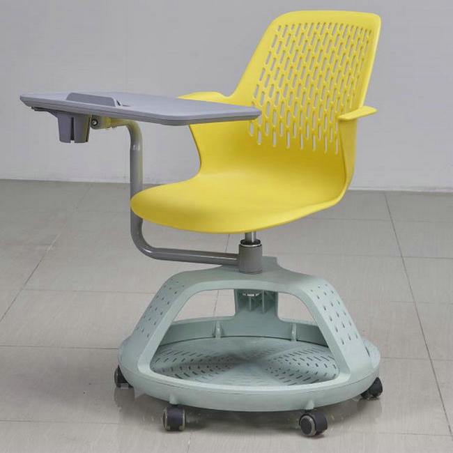 Student Study Chairs With Writing Pad